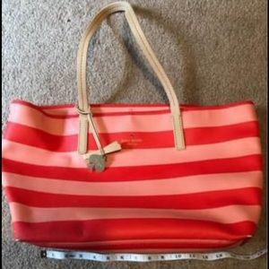 Kate Spade Large Striped Tote